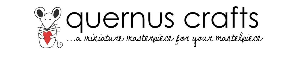 Quernus Crafts, site logo.