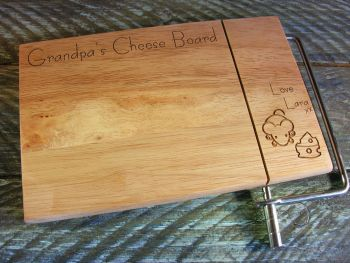 Wire Slicer Cheese Board - Cheese & Mouse Design