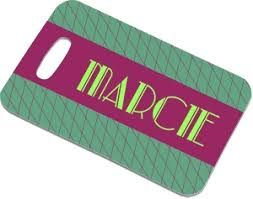 Unisub Sublimation Rectangle Bag Tags - 100x70mm - Blanks