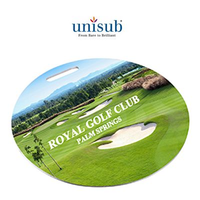 Unisub Sublimation Round Bag Tags - 100mm - Blanks