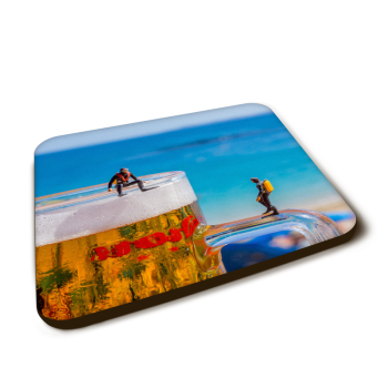 """Dream dive"" Gloss Finished Coaster"
