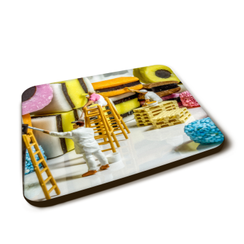 """""""Up to allsorts"""" Gloss Finished Coaster"""
