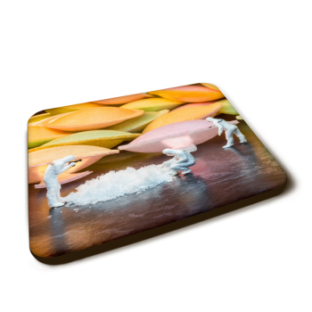 """""""Space dust"""" Gloss Finished Coaster"""