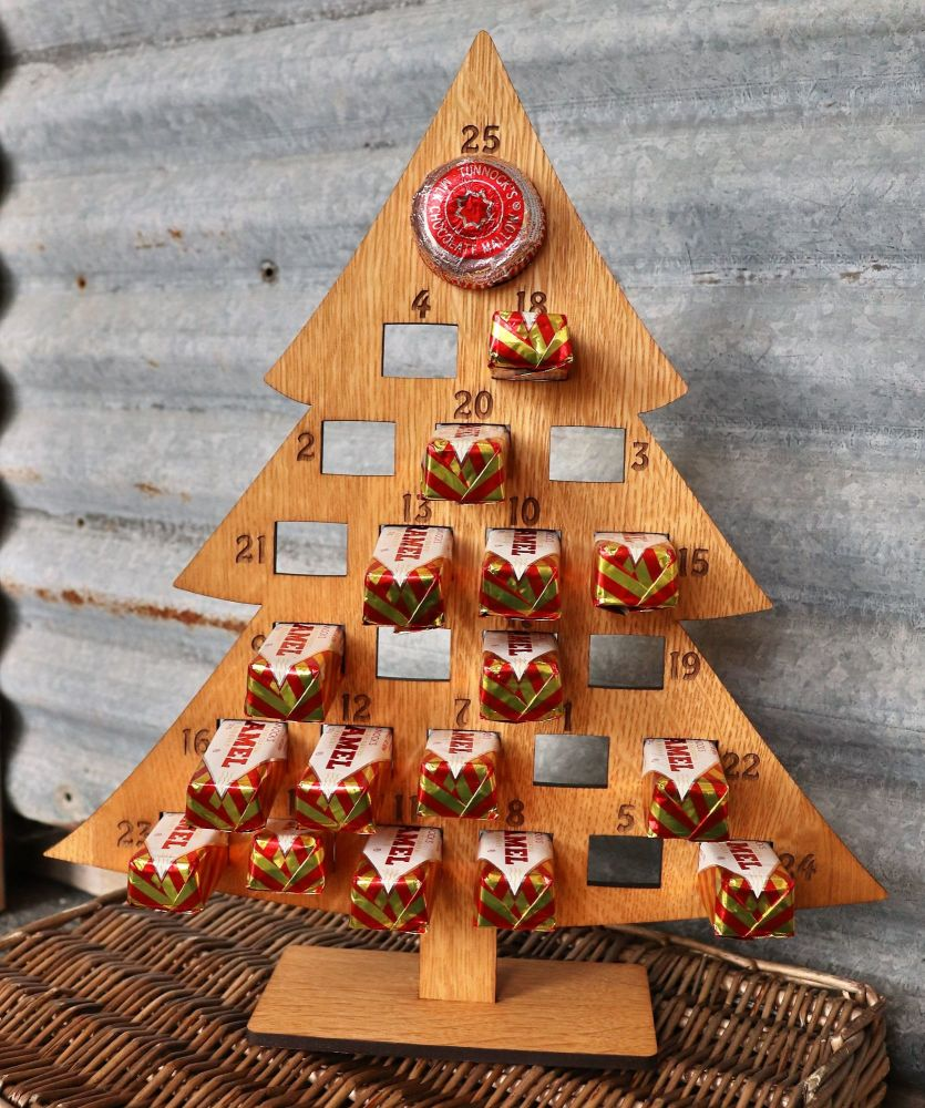 Uddingston Biscuit Advent Tree - Sorry biscuits not included :-(
