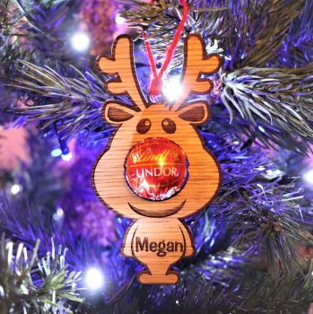 "Deluxe ""Little Rudolph"" Christmas Tree Decoration - DCB05"
