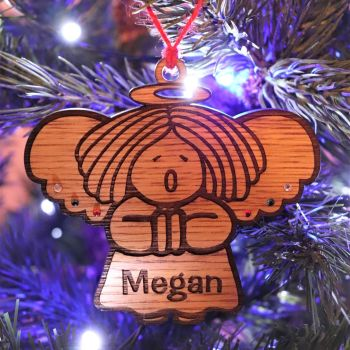Deluxe Angel Christmas Tree Decoration - DCB14