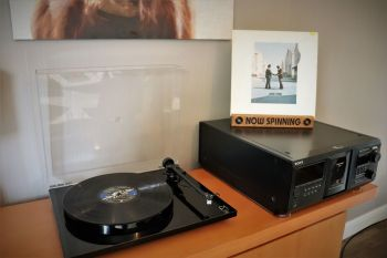 """Solid Wood Vinyl Record Sleeve Holder.... """"Yes, it can even be personalised"""""""