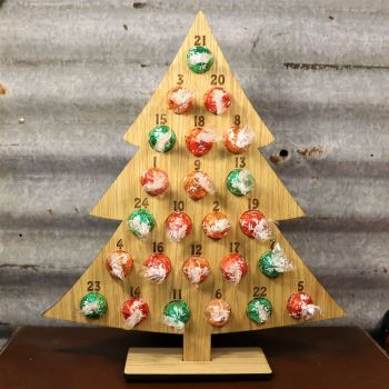 Lindt Oak Venner Advent Tree - Sorry chocolates not included :-(