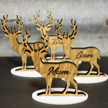 Reindeer Table Place Settings  *Free Delivery*