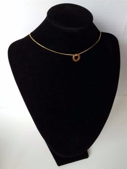 Celebrity Style Single Round Chain Women Necklace