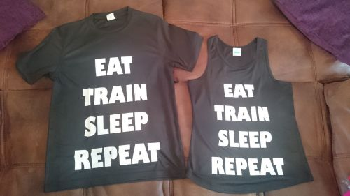 Training top - Eat Train Sleep Repeat