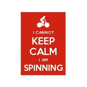 Training top - Keep Calm and SPIN ON