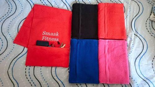 Gym Towel - with Zipped Pocket