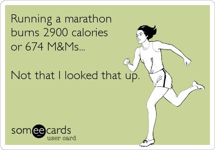 running-mnms