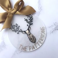 Stag Tree Decoration