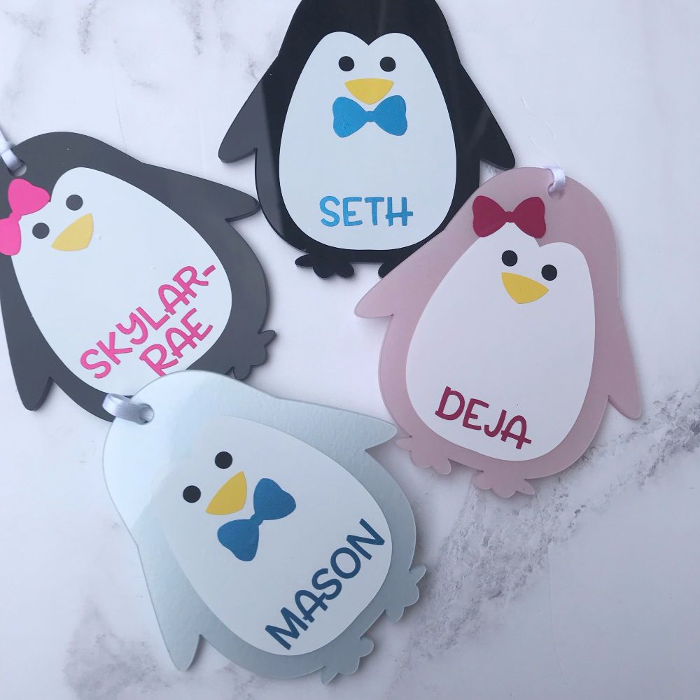 Personalised Penguins
