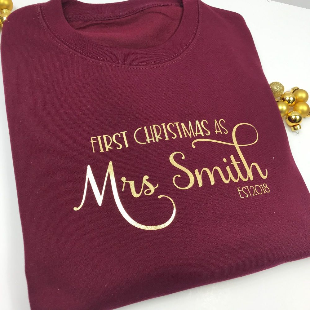 Mrs Christmas Jumper