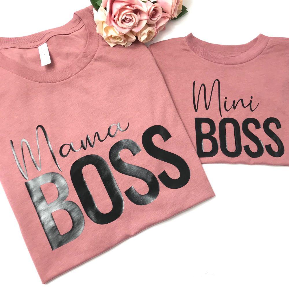 Mama Boss + Mini Boss