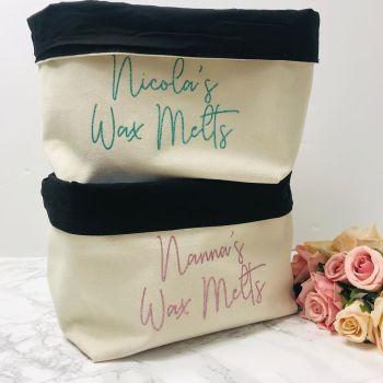 Wax Melts Storage Bag
