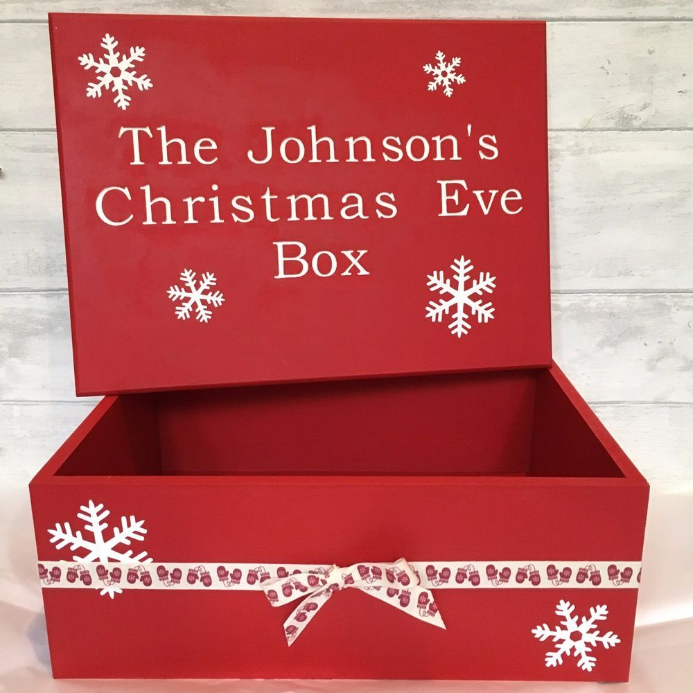Christmas Eve Boxes, PJ's and Christmas Decorations