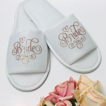 Bridal Party Slippers