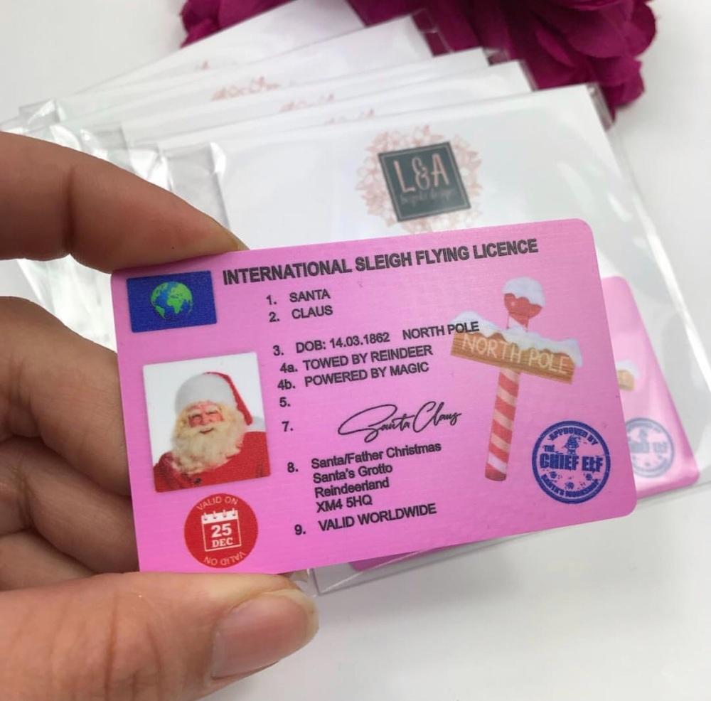 Santa's License