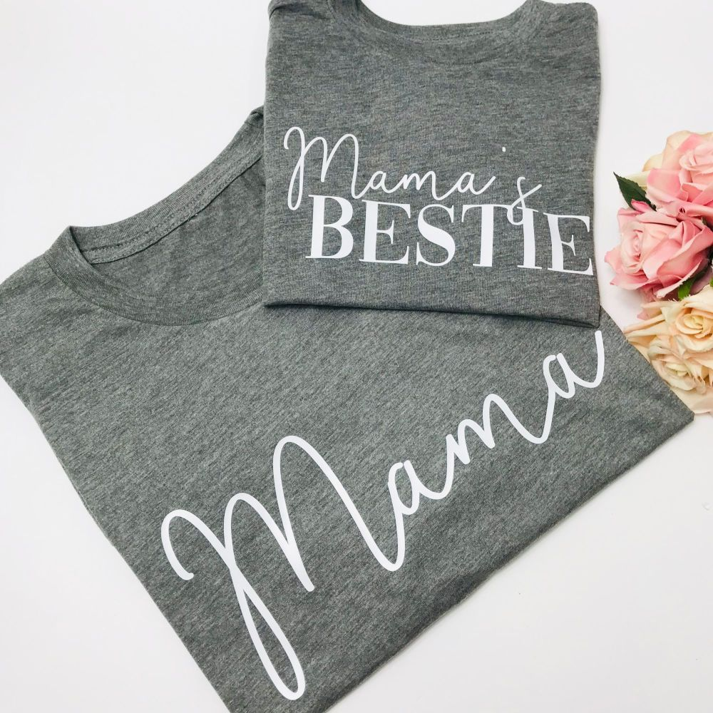 Mama and Mama's Bestie Tee Set