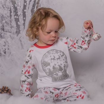 Snow Globe Christmas Pyjamas