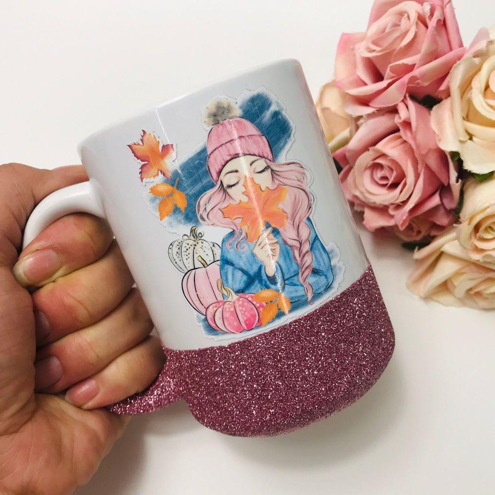 Leave Girl Mug