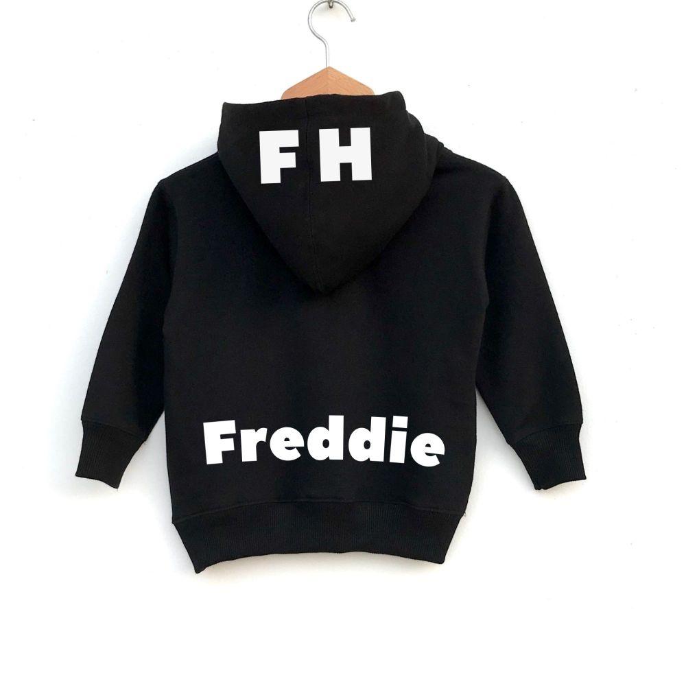 Personalised Zip Up Hoodie
