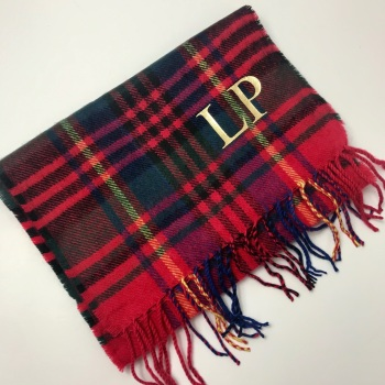 Initial check scarf