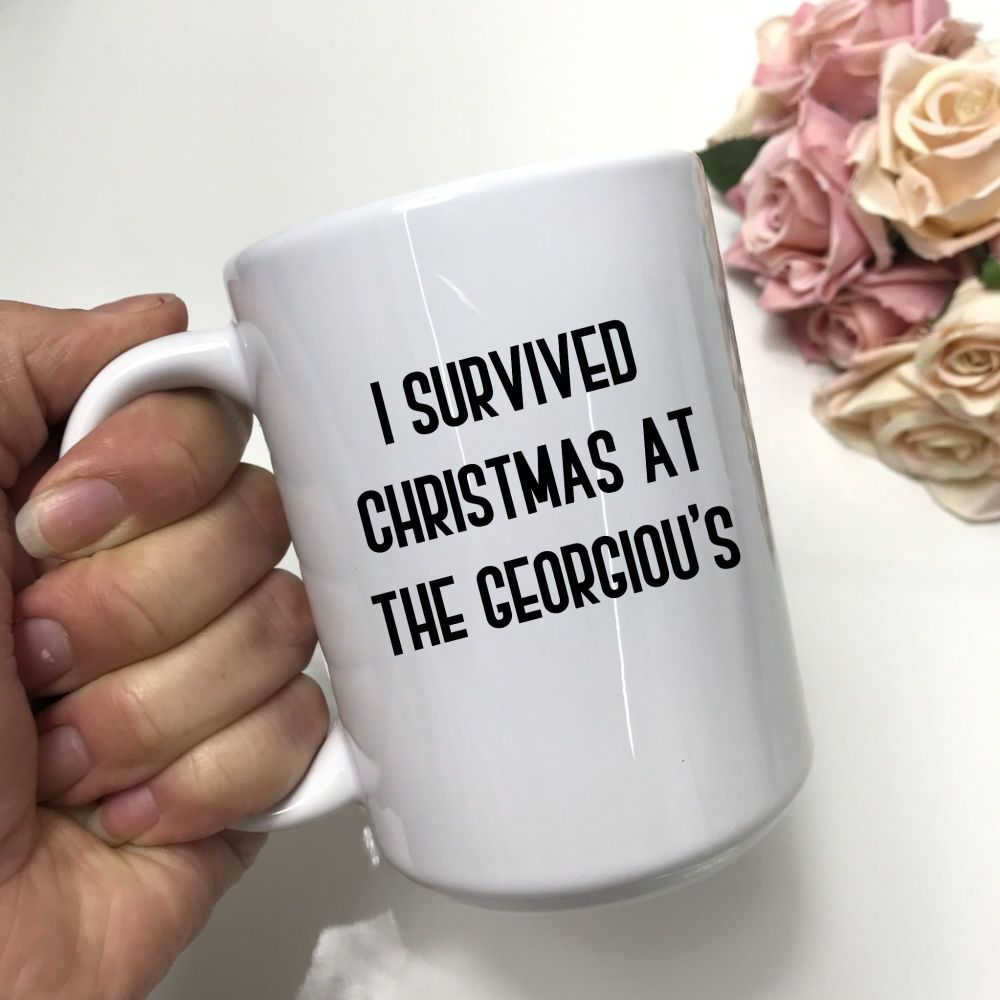 I survived Christmas at the.....