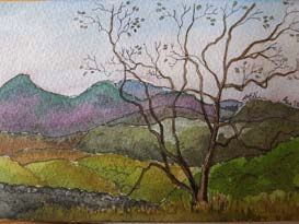 Lake District Painting