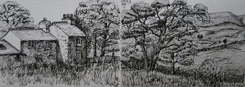 Lake District Sketch