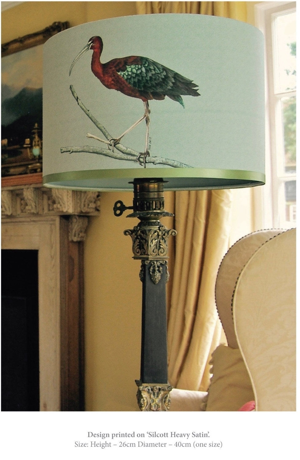 ibis bird lampshade