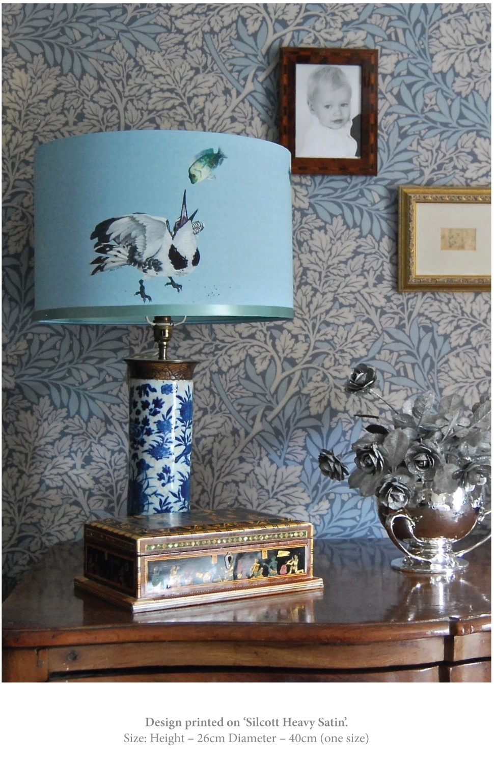 kingfisher bird lampshade