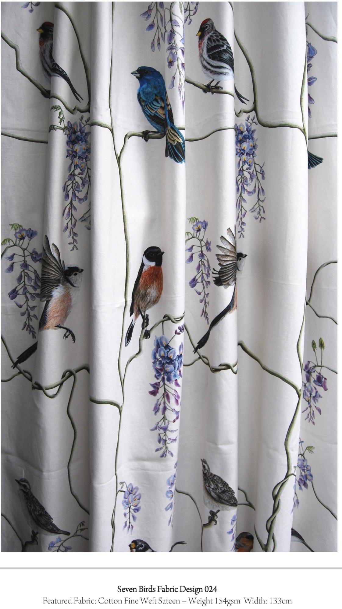 wisteria fabric