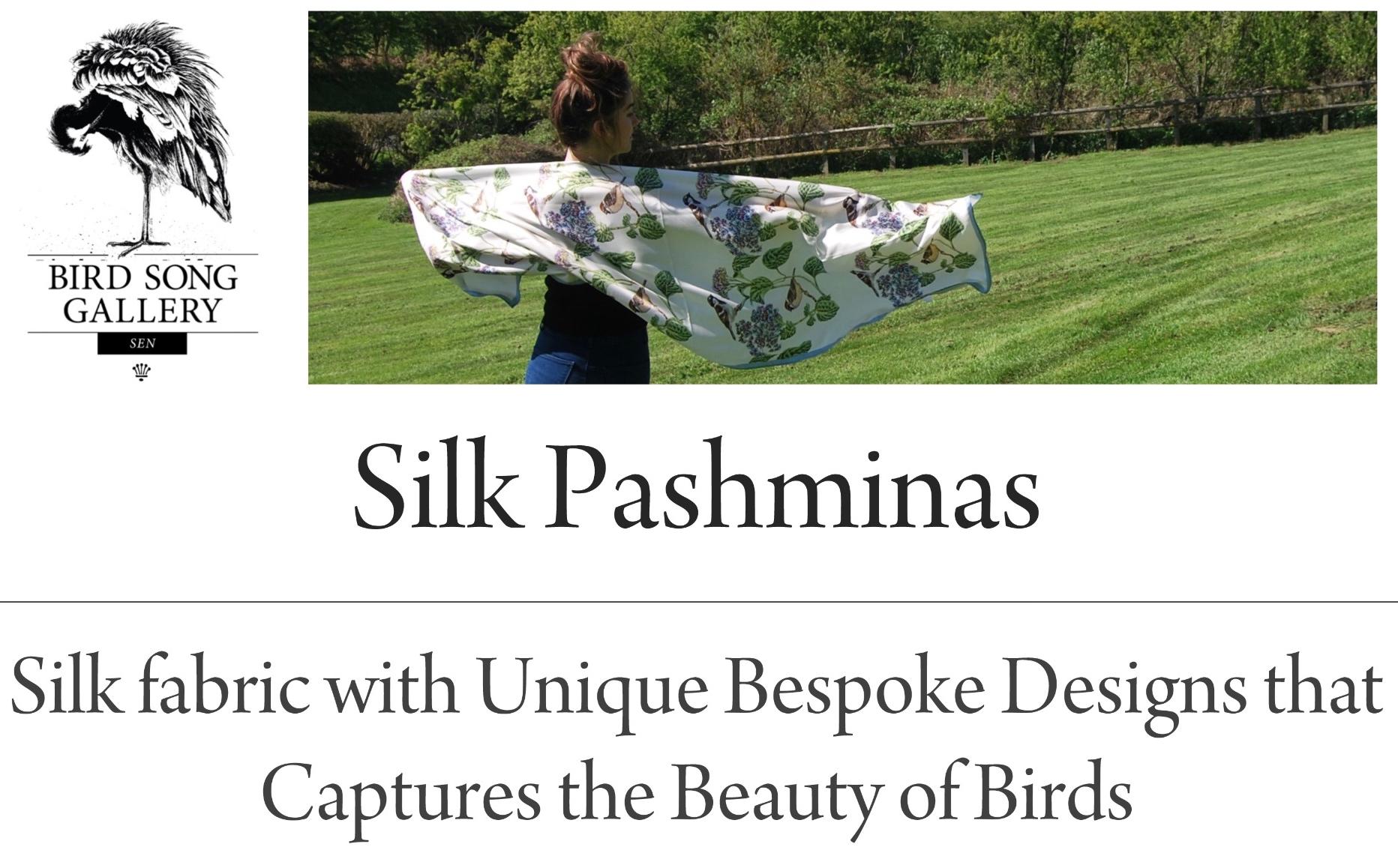 Silk Pashminas