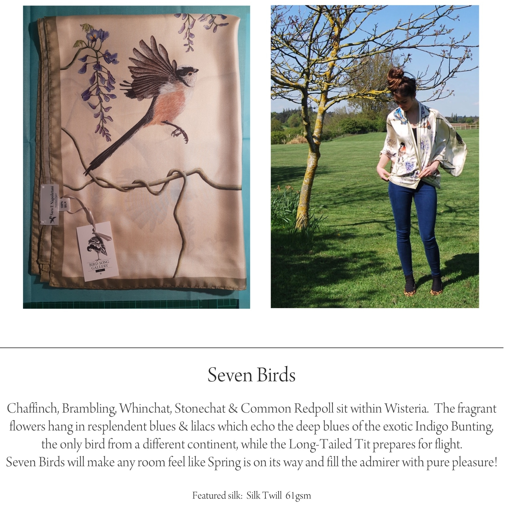 birds silk