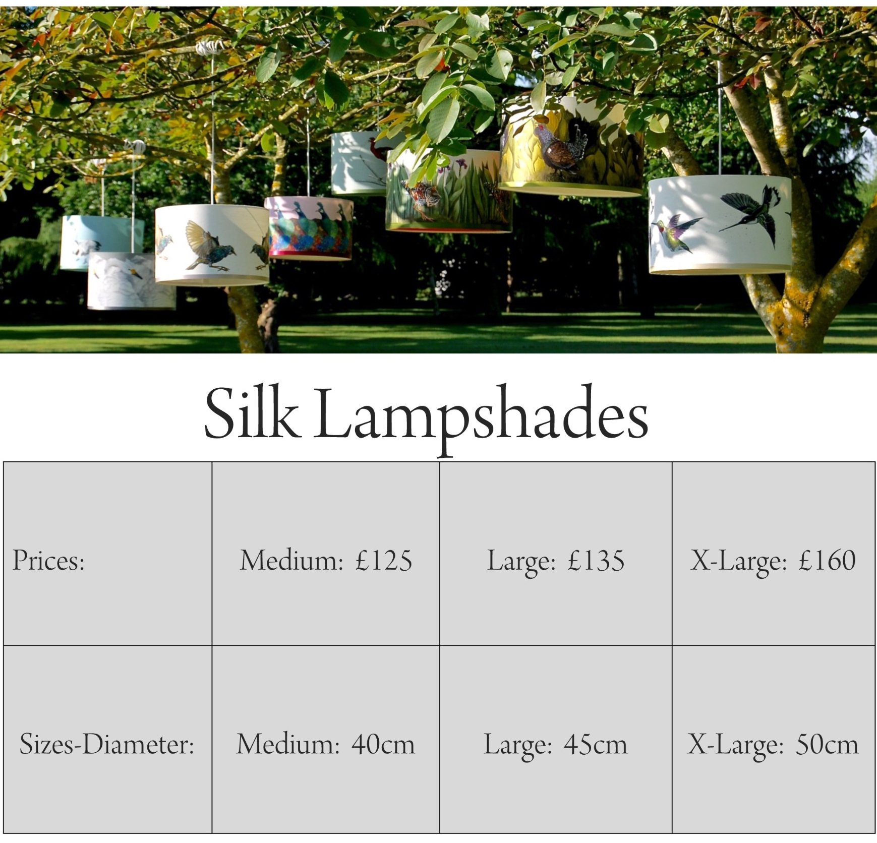 lampshade prices
