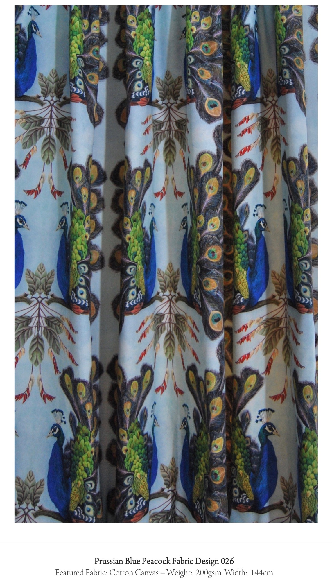 bird pattern fabric