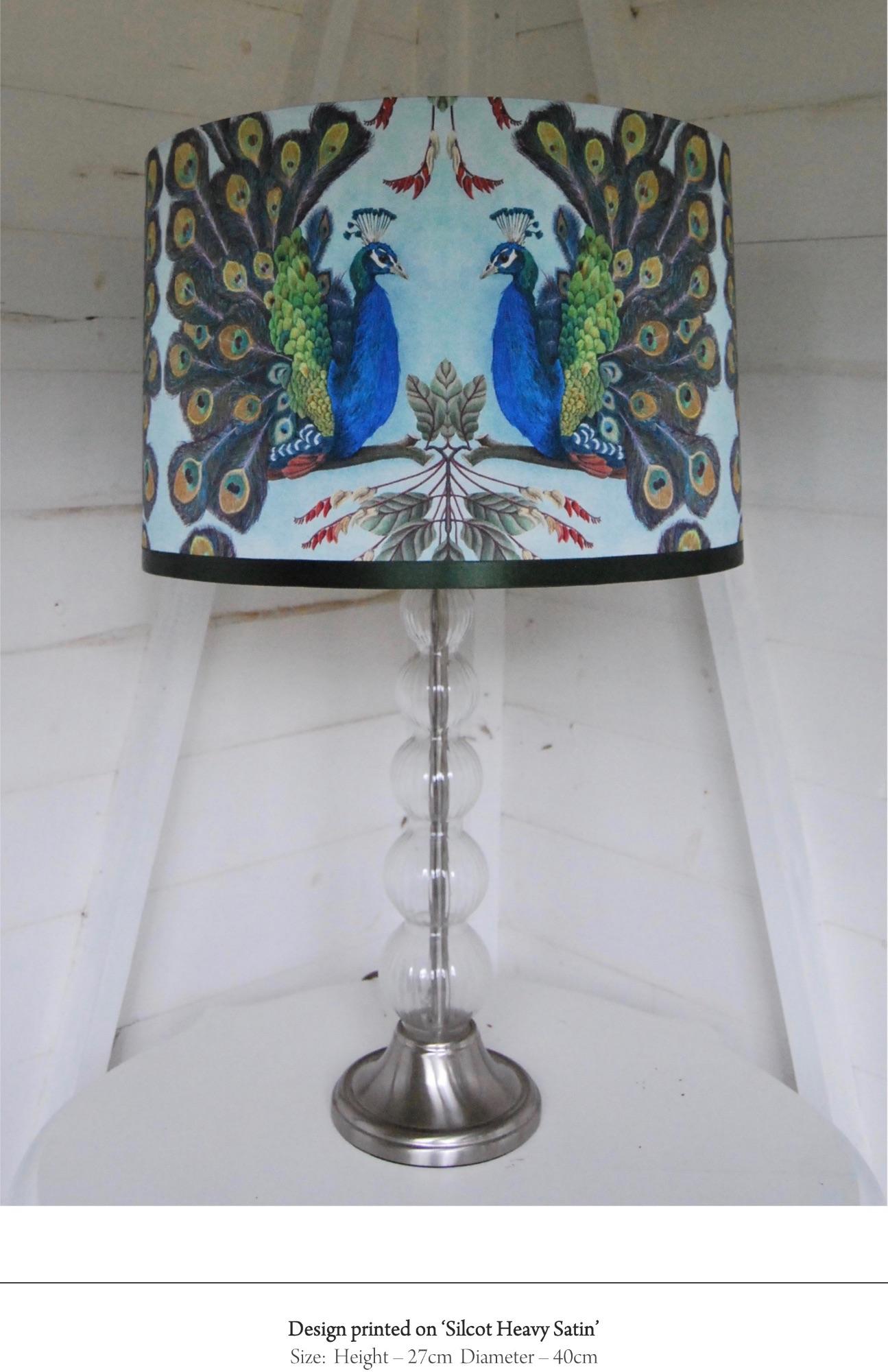 Prussian peacock
