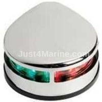 LED Bi Colour Port & Starboard Light 12v Stainless Steel