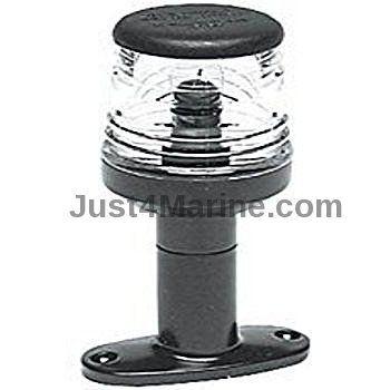 LED Mast Head Navigation Light 360 Degree AISI Stainless Steel Black