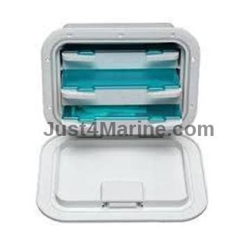 Deck Storage Hatch Access Locker 3 Drawer Watertight UV