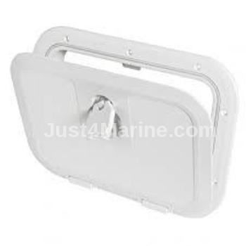 Boat Deck Inspection Access Hatch White 380 x 280mm