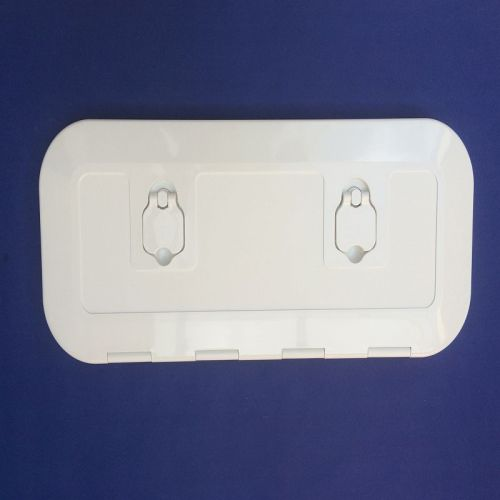Deck Hatch White 600 x 250mm 180 Degree Opening Walk On UV