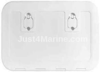 Deck Hatch White 600 x 350mm 180 Degree Opening Walk On UV