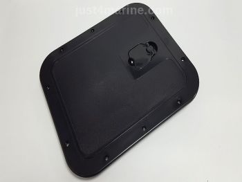 Deck Inspection Access Hatch Black 305 x 355mm Removable Lid