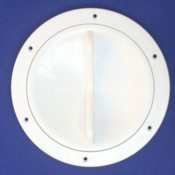 "Inspection Hatch Easy Open 127mm (5"") White"